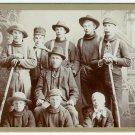 Working Men Cabinet Card