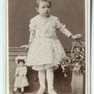 Russian CDV of a Girl with a Doll