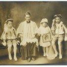 Priest and Children