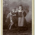 Two Children and a Hobby Horse
