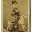 Rocking Horse, Toy Rifle