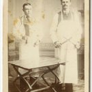 Butchers With Knives, Meat Cleaver