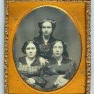 Three Sisters Daguerreotype