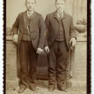 Twins Cabinet Card