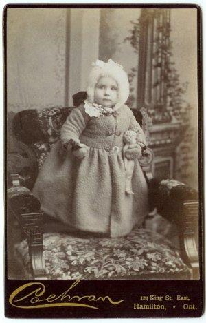 Children with Dolls, Dog Cabinet Cards