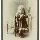 Child with a Ball Cabinet Card