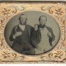Twins - Men Touching Sixth Plate