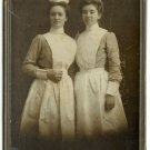 Two Nurses Cabinet Card