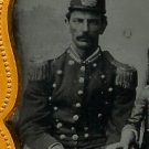 Civil War Soldier and Family