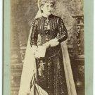 Cabinet Card of Clara Morris