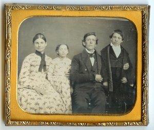 The Happy Family Daguerreotype