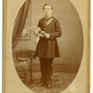 Cornet Player Cabinet Card