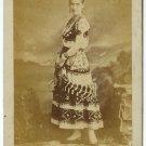 Female Impersonator Cabinet Card
