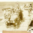 FDR leaving a Ferry off the Columbia River