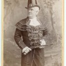 W.J. Florence Cabinet Card by Falk