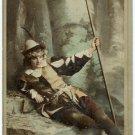Ada Rehan Oversize Newsboy Cabinet Card