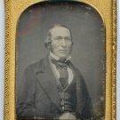 Quarter Plate Daguerreotype of a Gentlemen
