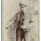 Vaudevillian Actor Cabinet Card