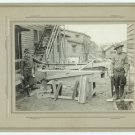 Military Carpenters Silver Photograph