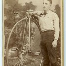 High Wheel Bicycle Albumen
