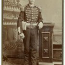 Bandsman in Full Uniform CDV