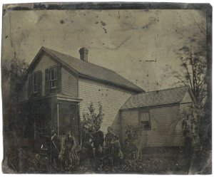 The Homestead - Full Plate Tintype