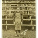 Bodoin College Football Player Silver Photograph