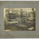 Cemetery Silver Photograph