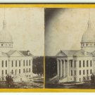 Macoupin County Courthouse Stereoview