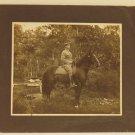 Military Officer on Horseback