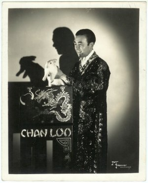 Chan Loo the Magician Silver Photograph