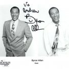 Signed Byron Allen Photograph
