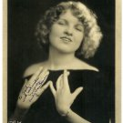 Signed Silver Photograph of Emily Van Hauer