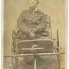 CDV of Crippled Man Isaac Stake