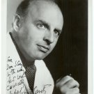 Andre Kostelanetz Autographed Photo and Letter