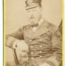 CDV of a British Naval Officer