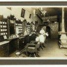 Barber Shop Interior Silver Photograph