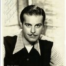 Billy De Wolfe Autographed Silver Photograph
