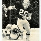 Autographed Football Player Photograph