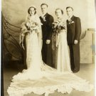 Wedding Party Silver Photograph