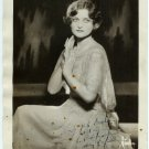Autographed Helen Macfaldese Silver Photo