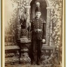 Young Clarinetist Cabinet Card