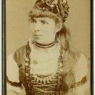 German Cabinet Card of French Opera Carmen