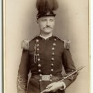 Armed Span Am Full Dress Cabinet Card