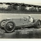 Earl Cooper, Indy 500 Racer Silver Photograph