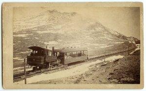 Pike's Peak Train Oversize Cabinet by Hook