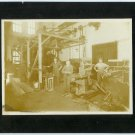 Machinists in their Machine Shop Photograph
