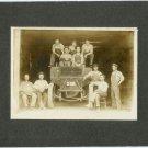 Men on A Truck Silver Photograph