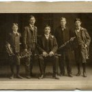 Trumpets and Clarinets Silver Photograph