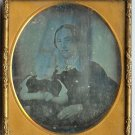 Woman and Child Sixth Plate Daguerreotype